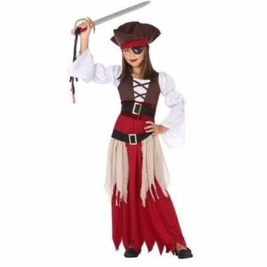 Piraten foute kleding/jurk voor meisjes