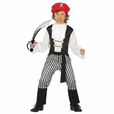 Piraten foute kleding maat 140 152 met zwaard voor kinderen