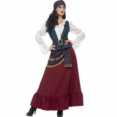 Piraten/zigeunerin foute kleding/jurk voor dames