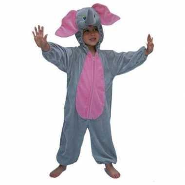 Pluche dieren foute kleding olifant