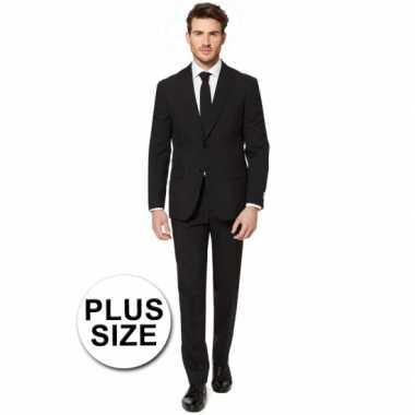 Plus size heren foute kleding zwart