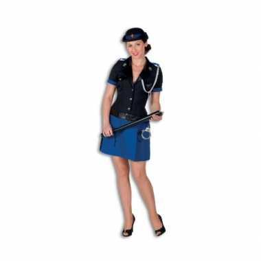 Politie foute kleding polyester voor dames