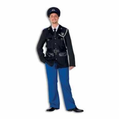 Politie foute kleding polyester voor heren