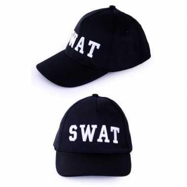 Politie swat baseball cap foute kleding voor volwassenen