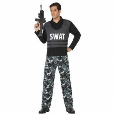 Politie swat pak/foute kleding voor volwassenen