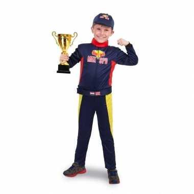 Race formule 1 foute kleding voor jongens