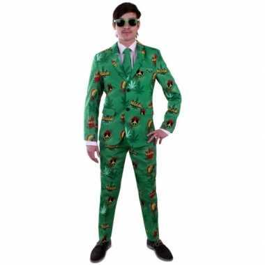 Reggae foute kleding pak voor heren