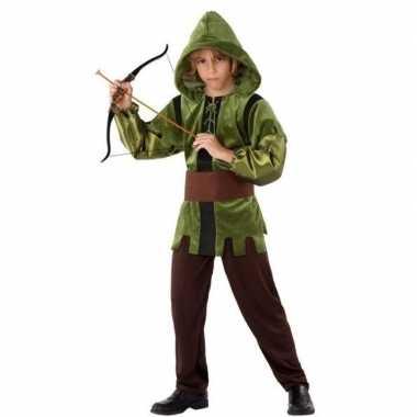 Robin hood foute kleding 3 delig voor kinderen