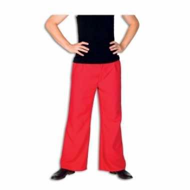 Rode foute kleding broek voor heren