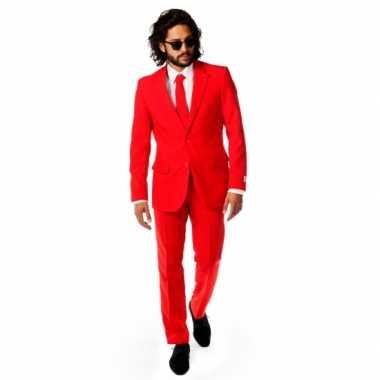 Rode foute kleding voor heren