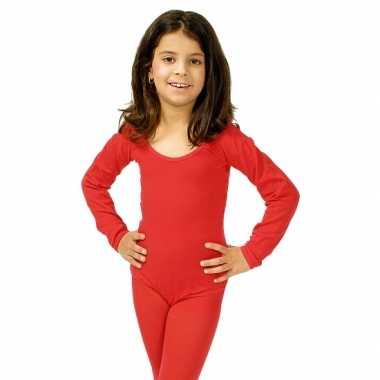 Rode kinder ballet foute kleding
