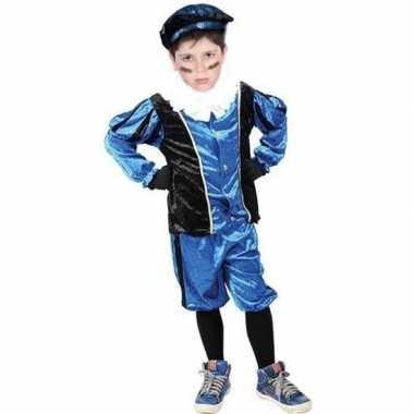 Roetveeg pieten foute kleding blauw/zwart voor kinderen