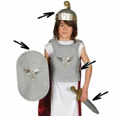 Romeinse ridder foute kleding voor kinderen