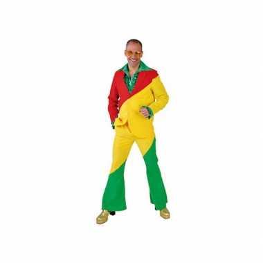 Rood/geel/groene foute kleding voor volwassenen