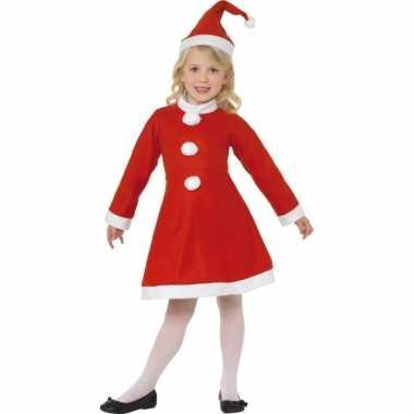 Rood kerst foute kleding meiden