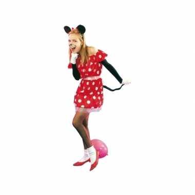 Rood muisje foute kleding voor dames