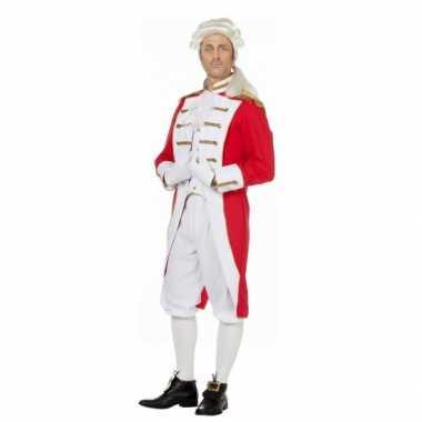 Rood wit presentator foute kleding