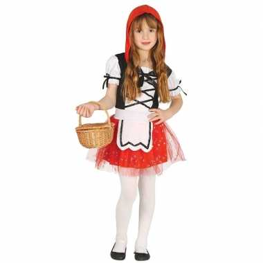 Roodkapje foute kleding/jurkje voor meisjes