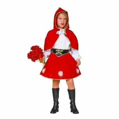 Roodkapje foute kleding voor kinderen