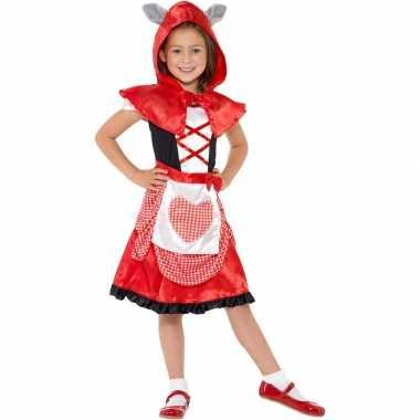 Roodkapje foute kleding voor meisjes