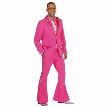 Roze glitter foute kleding heren