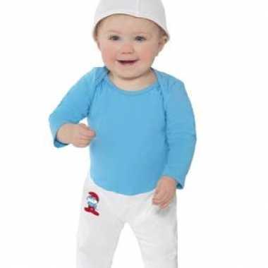 Smurfen foute kleding voor baby's