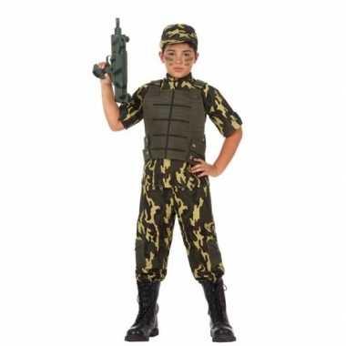 Soldaat/leger foute kleding voor jongens