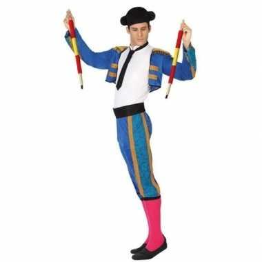 Spaanse matador/stierenvechter foute kleding voor heren