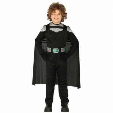 Space wars ridder foute kleding met cape voor kinderen