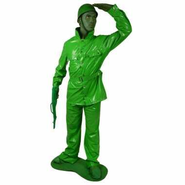 Speelgoed soldaten foute kleding 7 delig