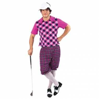 Sportieve golfers foute kleding voor heren