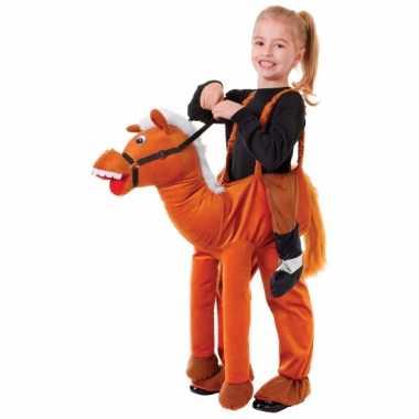 Stap in paard foute kleding voor kids