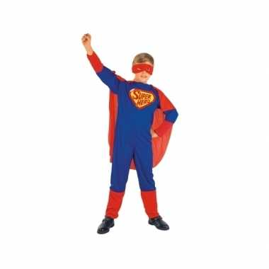 Super jongen kinderfoute kleding
