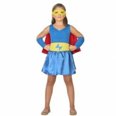 Supergirl jurk/jurkje foute kleding voor meisjes