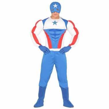 Superheld kapitein amerika foute kleding voor heren