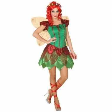 Toverfee/elfen jurkje foute kleding voor dames