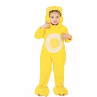 Troetelberen foute kleding geel voor kinderen