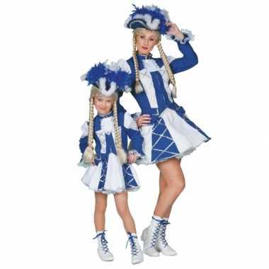 Twirl foute kleding blauw voor meiden