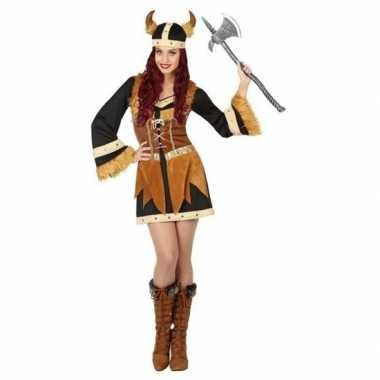 Viking foute kleding/jurk voor dames