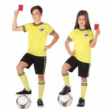 Voetbal scheidsrechter foute kleding voor kinderen