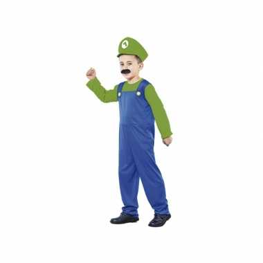 Voordelig groen loodgieter foute kleding voor jongens