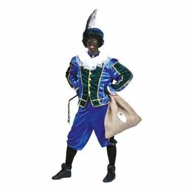 Voordelig roetveeg pieten foute kleding blauw/groen unisex