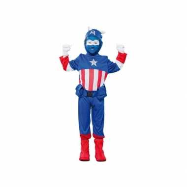 Voordelig superheld kapitein foute kleding voor jongens