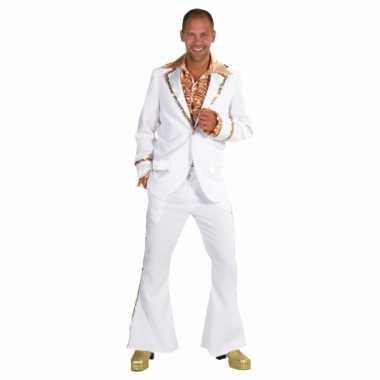 Witte seventies foute kleding heren