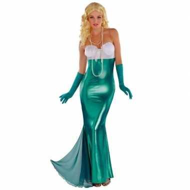 Zeemeermin/zeemeerminnen foute kleding feestfoute kleding voor dames