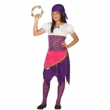 Zigeunerin esmeralda foute kleding voor meisjes