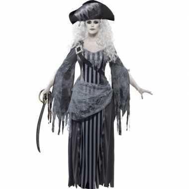 Zombie piraten foute kleding voor dames