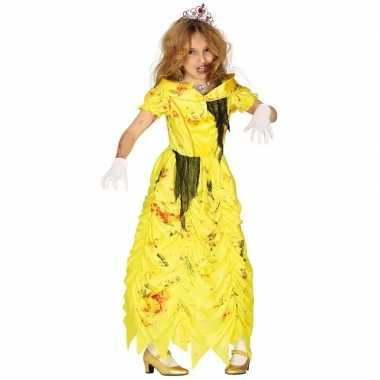Zombie prinses belle foute kleding voor meisjes prinsessenjurk