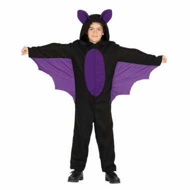 Zwart met paars vleermuis foute kleding voor jongens