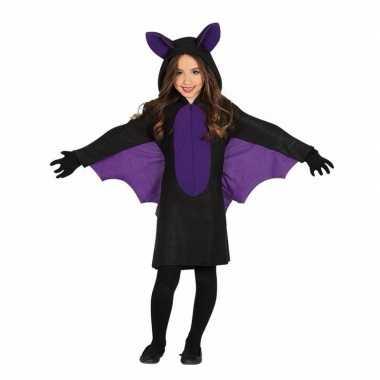 Zwart met paars vleermuis foute kleding voor meisjes